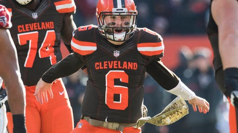 SIT: Baker Mayfield, QB, Browns