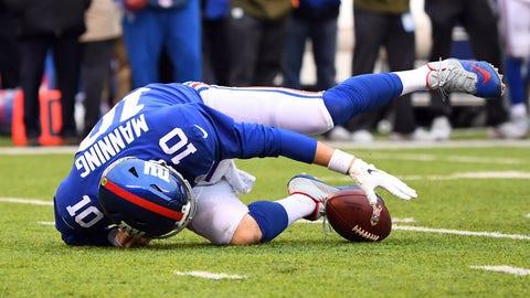 SIT: Eli Manning, QB, Giants
