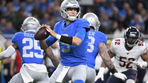 START: Matthew Stafford, QB, Lions
