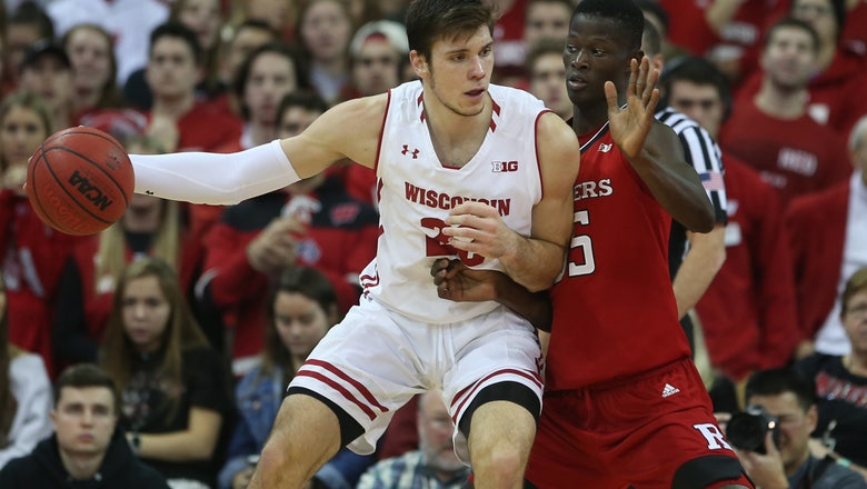 Happ leads Badgers' rally past Rutgers 69-64