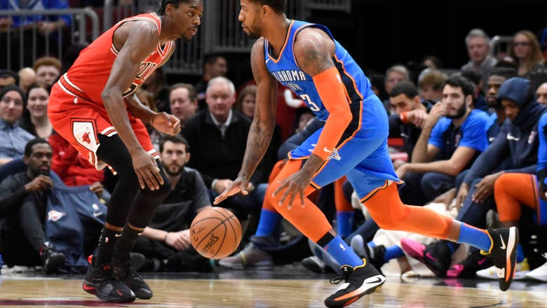 OKC loses lead late after Bulls 4th Quarter Run