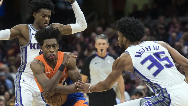 Second-half struggles lead to Cavs' 129-110 loss to Kings