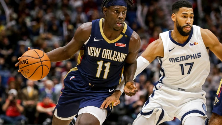 Pelicans have 4 players with double-figures in 107-103 loss