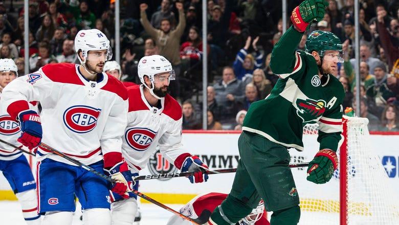 Wild erupt for 7 goals in win over Montreal