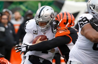 RECAP: Derek Carr sets club record but Raiders fall to Bengals