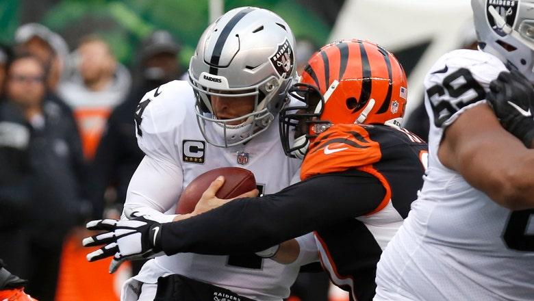 RECAP: Derek Carr sets club record but Raiders fall to Bengals