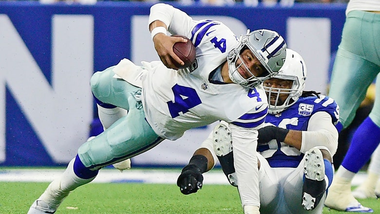 Cowboys can't solve Colts defense, fall 23-0 on the road