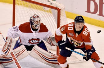 Panthers fall short to Canadiens behind Tomas Tartar's two goals