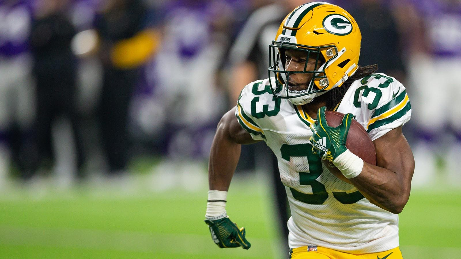 Statuesday Packers Aaron Jones Could Thrive In Featured Role