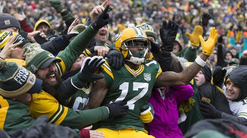 Davante Adams, Packers wide receiver (↑ UP)