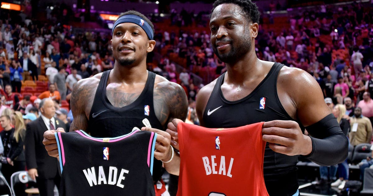 a6f36cac2c6 Bradley Beal finally tells Dwyane Wade why he wears No. 3