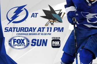 Preview: Dominant Lightning look to close out a perfect California trip against Sharks