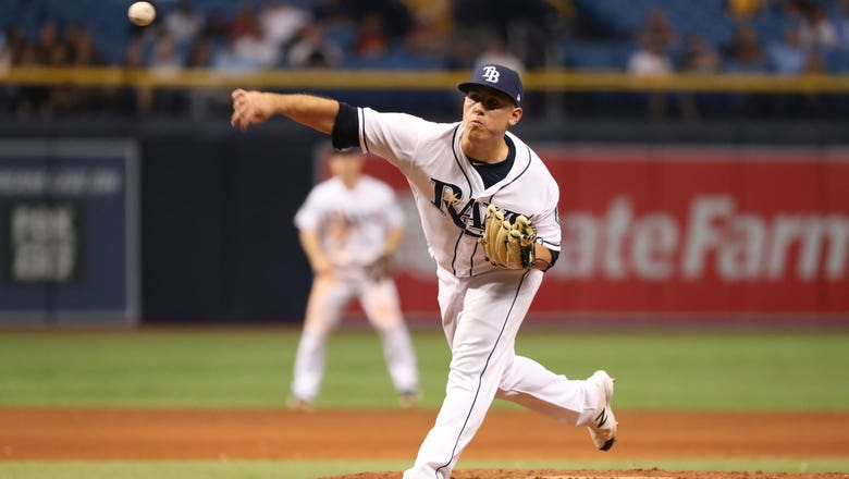 Rays deal Jaime Schultz to Dodgers for right-hander Caleb Sampen