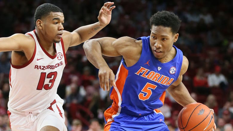 Kevaughn Allen drops team-high 18 points as Florida holds on for 57-51 win over Arkansas