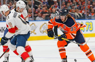 Connor McDavid scores in final seconds to force OT, Panthers fall 4-3 to Oilers