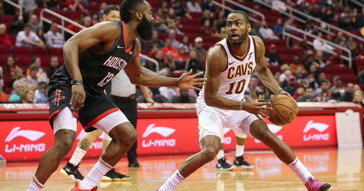 50a2f8af58c Harden has triple-double to lead Rockets over Cavaliers 141-113 ...