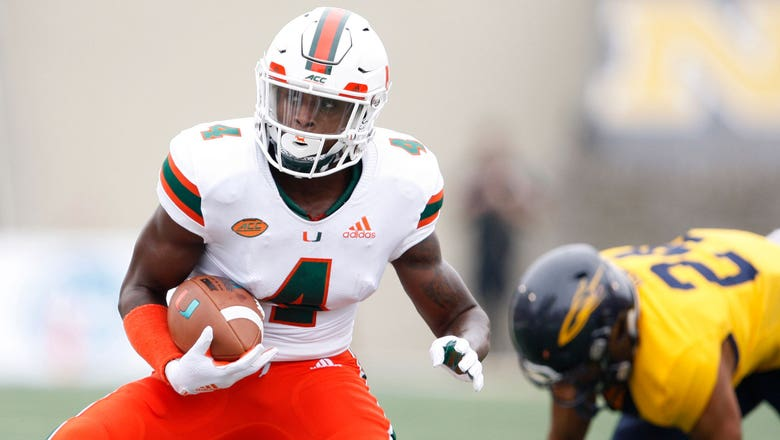 Return to the U: WR Jeff Thomas says he plans to play for 'Canes next season
