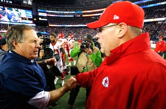 Nick Wright analyzes the success Andy Reid-led Chiefs have had against the Patriots in the Belichick era
