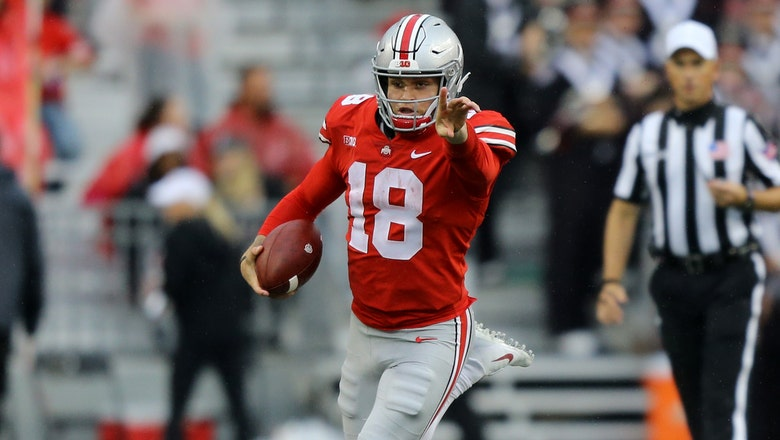 Dynamic QB Tate Martell says he is transferring from Ohio State to Miami
