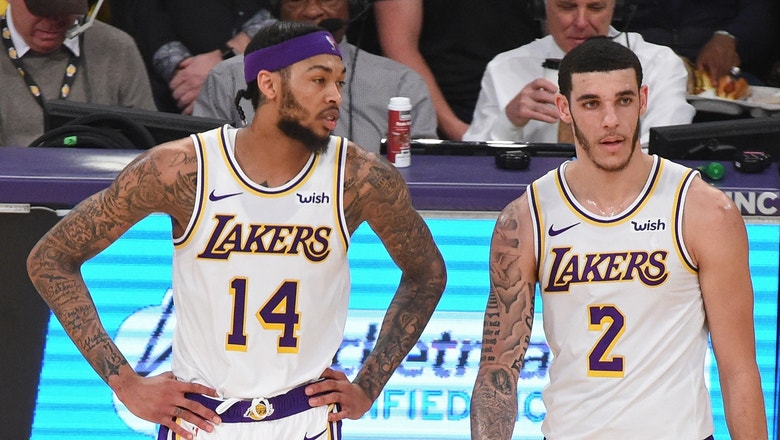 Nick Wright is disappointed with Brandon Ingram and Lonzo Ball's lack of growth in LeBron's absence