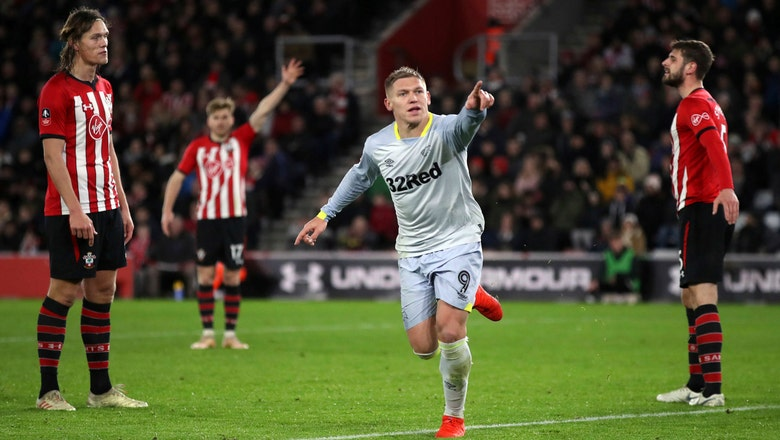 Derby beats Southampton on penalties in FA Cup