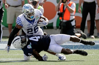 Kentucky withstands late push from Penn State to win Citrus Bowl