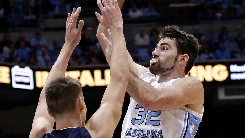 Little, No. 13 North Carolina hold off Notre Dame 75-69
