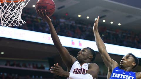 <p>               Auburn guard Jared Harper (1) scores defended by Kentucky guard Ashton Hagans (2) during the first half of an NCAA college basketball game Saturday, Jan. 19, 2019, in Auburn, Ala. (AP Photo/Julie Bennett)             </p>