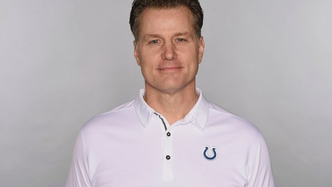<p>               File-This is a 2018 file photo of Matt Eberflus of the Indianapolis Colts NFL football team. The Browns have interviewed Indianapolis defensive coordinator Matt Eberflus, who padded his coaching resume Saturday with an impressive playoff performance. Eberflus met with Cleveland general manager John Dorsey and other members of the Browns front office one day after his defense bottled up Houston quarterback Deshaun Watson in the Colts' 21-7 win in an AFC wild-card game. (AP Photo)             </p>
