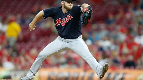<p>               FILE - In this Aug. 15, 2018, file photo, Cleveland Indians relief pitcher Cody Allen throws against the Cincinnati Reds during the eighth inning of a baseball game, in Cincinnati. A person familiar with the negotiations says closer Cody Allen and the Los Angeles Angels have agreed to an $8.5 million, one-year contract. The person spoke to The Associated Press on condition of anonymity Friday, Jan. 18, 2019, because the deal was subject to a successful physical. (AP Photo/Gary Landers, File)             </p>
