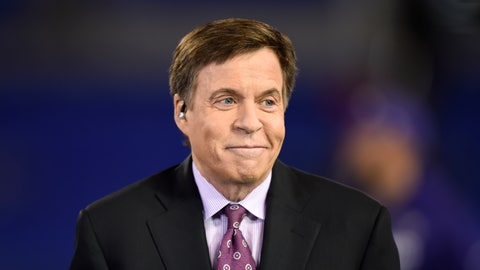 <p>               FILE - In this Nov. 10, 2016, file photo, NBC sportscaster Bob Costas appears before an NFL football game between the Baltimore Ravens and the Cleveland Browns, in Baltimore. NBC Sports said Wednesday, Jan. 16, 2019, that Costas parted ways with his longtime employer, providing no further details. (AP Photo/Gail Burton, File)             </p>