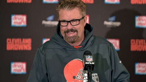 <p>               FILE - In this Dec. 9, 2018, file photo, Cleveland Browns head coach Gregg Williams answers questions during a news conference after his team defeated the Carolina Panthers in an NFL football game in Cleveland. Williams had his coaching interview with the Browns, who were impressed by him leading them to five wins this season. Williams went 5-3 as Cleveland's interim coach after taking over when Hue Jackson was fired on Oct. 29. The 60-year-old Williams is the first candidate interviewed by general manager John Dorsey. (AP Photo/David Richard, File)             </p>