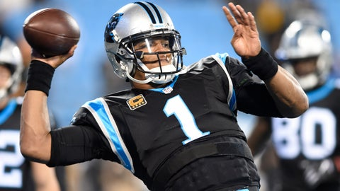 <p>               FILE - In this Monday, Dec. 17, 2018 file photo, Carolina Panthers' Cam Newton (1) warms up before an NFL football game against the New Orleans Saints in Charlotte, N.C. Panthers quarterback Cam Newton has had arthroscopic surgery on his right throwing shoulder. The team announced the surgery on Thursday, Jan. 24, 2019 saying Newton's rehabilitation process will begin immediately. (AP Photo/Mike McCarn, File)             </p>