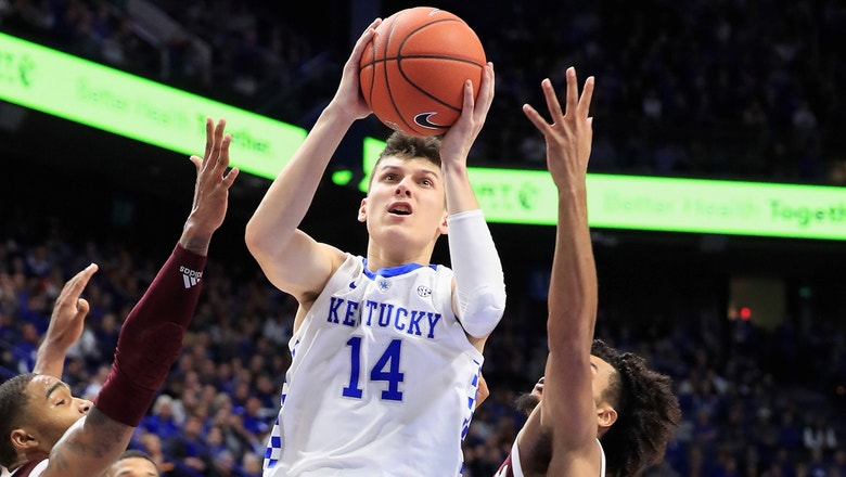 Tyler Herro and No. 18 Kentucky rally to beat Texas A&M