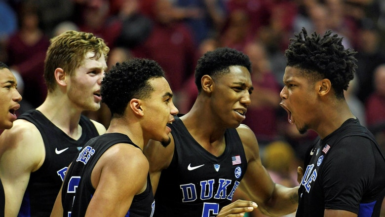 Cam Reddish drills game-winning 3-pointer to lift No. 1 Duke past Florida State