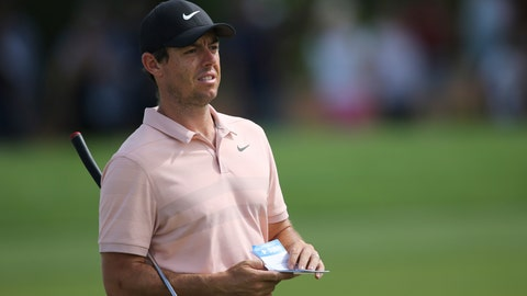 <p>               FILE - In this Nov. 17, 2018 file photo, Rory McIlroy, from Northern Ireland, looks at his shot on the 1st hole during the third round of the DP World Tour Championship golf tournament in Dubai, United Arab Emirates. McIlroy has decided to skip the early start of the European Tour season and concentrate on the U.S. tour this year.  (AP Photo/Kamran Jebreili, File)             </p>
