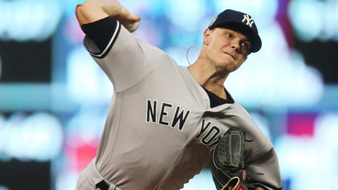 <p>               FILE - In this Sept. 11, 2018, file photo, New York Yankees pitcher Sonny Gray throws against the Minnesota Twins in the first inning of a baseball game in Minneapolis. A person familiar with the negotiations tells The Associated Press that Gray has agreed to a contract with Cincinnati adding $30.5 million from 2020-22, a deal that allows the Yankees to complete his trade to the Reds. The person spoke on condition of anonymity Monday, Jan. 21, 2019, because the trade had not been announced. (AP Photo/Jim Mone, File)             </p>