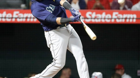 <p>               FILE - In this Sept. 13, 2018, file photo, Seattle Mariners' Nelson Cruz watches his three-run home run in the fourth inning of a baseball game against the Los Angeles Angels, in Anaheim, Calif. The Twins and veteran slugger Nelson Cruz have agreed to a one-year contract with an option for the 2020 season, giving Minnesota a boost at designated hitter. The Twins announced the deal Wednesday, JUan. 2, 2019. (AP Photo/Chris Carlson, File)             </p>