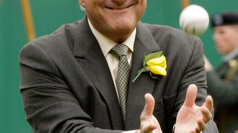 <p>               FILE - In this April 13, 2009, file photo, Pittsburgh Pirates broadcaster and former pitcher Steve Blass is honored for his 50 years with the Pirates organization before the Pirates home opener baseball game against the Houston Astros, in Pittsburgh. Blass' 60th season with the Pittsburgh Pirates will be his last in the broadcast booth. The former pitcher turned broadcaster announced Tuesday, Jan. 15, 2019, that 2019 will be his 34th and final year as a color analyst. He will step away as the longest-tenured broadcaster in team history.(AP Photo/Gene J. Puskar, File)             </p>