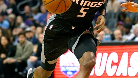 <p>               FILE - In this Jan. 8, 2019, file photo, Sacramento Kings guard De'Aaron Fox (5) drives against the Phoenix Suns in the first half during an NBA basketball game, in Phoenix. Sacramento has ridden De'Aaron Fox's speed and Buddy Hield's shooting to a 24-24 record after winning just 27 games last season. The Kings haven't made the postseason since 2006, and perhaps it's asking too much to break through behind starting guards who are in just their second and third seasons as pros. (AP Photo/Rick Scuteri, File)             </p>