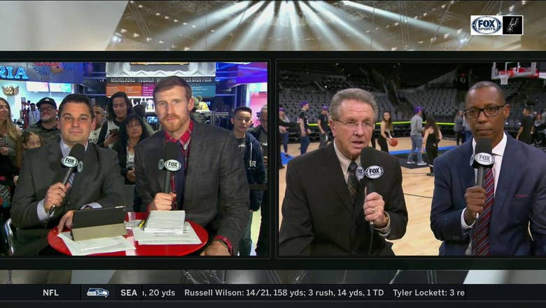 Bill and Sean on Spurs win over Memphis | Spurs Live