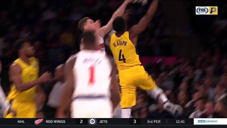 WATCH: Oladipo posterizes Knicks' defender