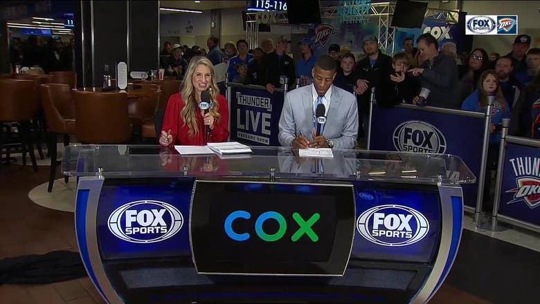 Thunder get bounce-back win vs. Spurs | Thunder Live