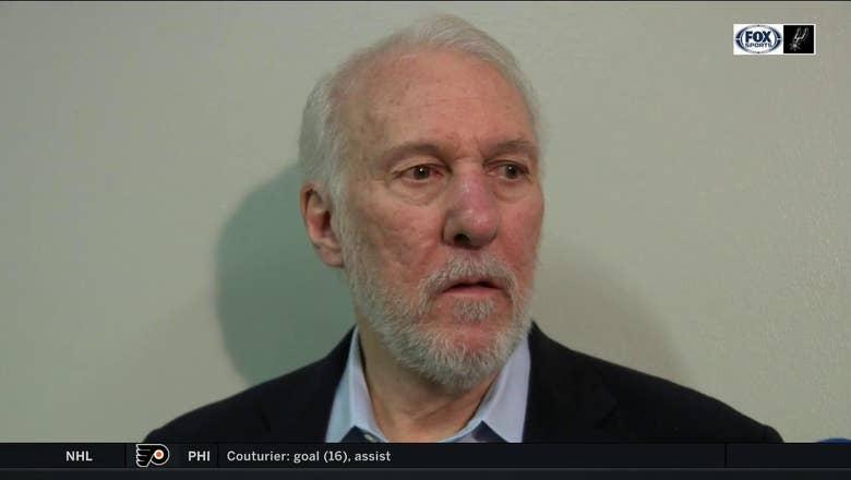 Gregg Popovich talks defense in loss to Thunder