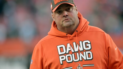 <p>               FILE - In this Dec. 9, 2018, file photo, Cleveland Browns offensive coordinator Freddie Kitchens walks on the field after an NFL football game against the Carolina Panthers in Cleveland. The Browns have interviewed Kitchens, who has already shown them what he can do with their offense. Kitchens took over game-planning and play-calling duties in October when Todd Haley was fired on the same day the club dismissed coach Hue Jackson. (AP Photo/David Richard, File)             </p>