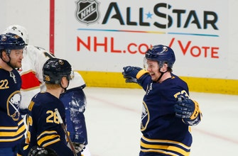 Skinner scores 2 goals in Sabres' 4-3 win over Panthers