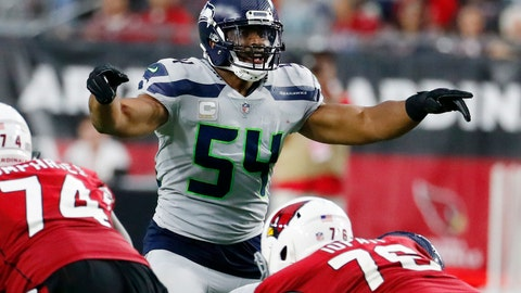 <p>               FILE - In this Sept. 30, 2018, file photo, Seattle Seahawks linebacker Bobby Wagner (54) gestures at the line of scrimmage during an NFL football game against the Arizona Cardinals in Glendale, Ariz. Seattle's Bobby Wagner and Sean Lee of Dallas were the All-Pro leaders of their defenses at linebacker the previous time the Seahawks and Cowboys made the playoffs.Little has changed for Wagner's group in two years. Not much is the same for the middle of the Dallas defense going into the first postseason meeting between the teams since the 2006 season.. (AP Photo/Rick Scuteri, File)             </p>