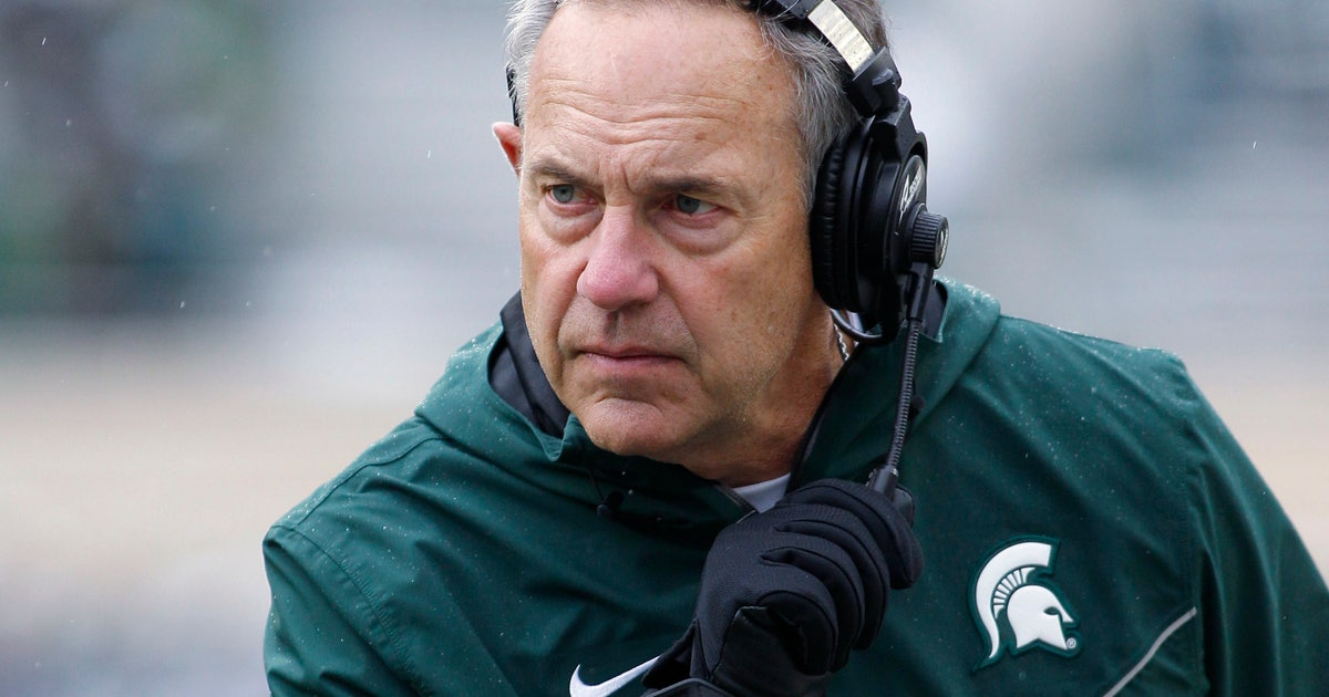 After two lopsided losses, Dantonio says Spartans must 'plant foot in the ground' thumbnail