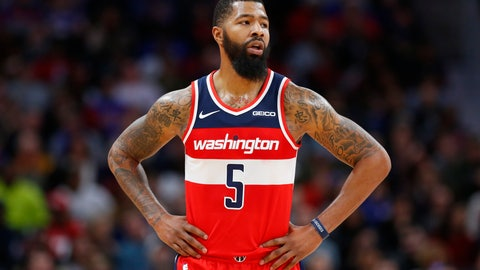 <p>               FILE - In this Dec. 26, 2018, file photo, Washington Wizards forward Markieff Morris (5) looks on during the second half of an NBA basketball game against the Detroit Pistons, in Detroit. The Washington Wizards say forward Markieff Morris will miss at least six weeks with a neck injury, the latest setback for one of the NBA's most disappointing teams. The Wizards announced Thursday, Jan. 3, 2019, that Morris was examined by a doctor in Dallas after dealing with neck and upper back stiffness since getting hit on the chin during a game on Dec. 16. (AP Photo/Duane Burleson, File)             </p>