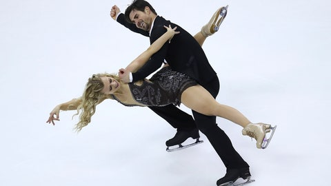 <p>               FILE - In this Jan. 7, 2018, file photo, Madison Hubbell, left, and Zachary Donohue perform during the free dance event at the U.S. Figure Skating Championships in San Jose, Calif. Lansing native Madison Hubbell is back in Michigan for the U.S. Figure Skating Championships, where she and Zachary Donohue will try to defend their ice dancing title. (AP Photo/Ben Margot, File)             </p>